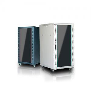[세이프네트워크] 허브랙 SAFE-1200H 22U (H 1163 * D 750 * W 600mm, 68Kg)앞문 강화유리/FAN2개/고정선반2개/6구멀티탭/케이지너트