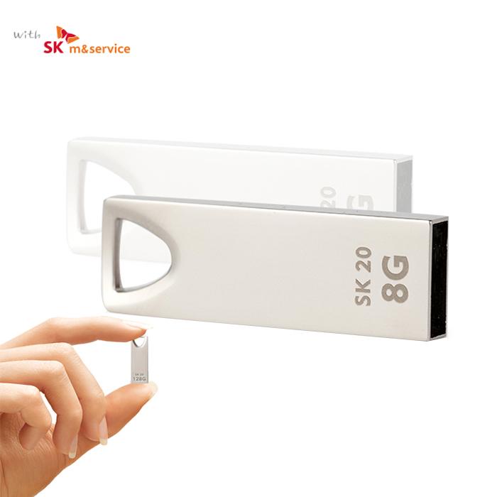 [액센] 액센 with SK SK20 USB2.0 메탈 메모리 16GB