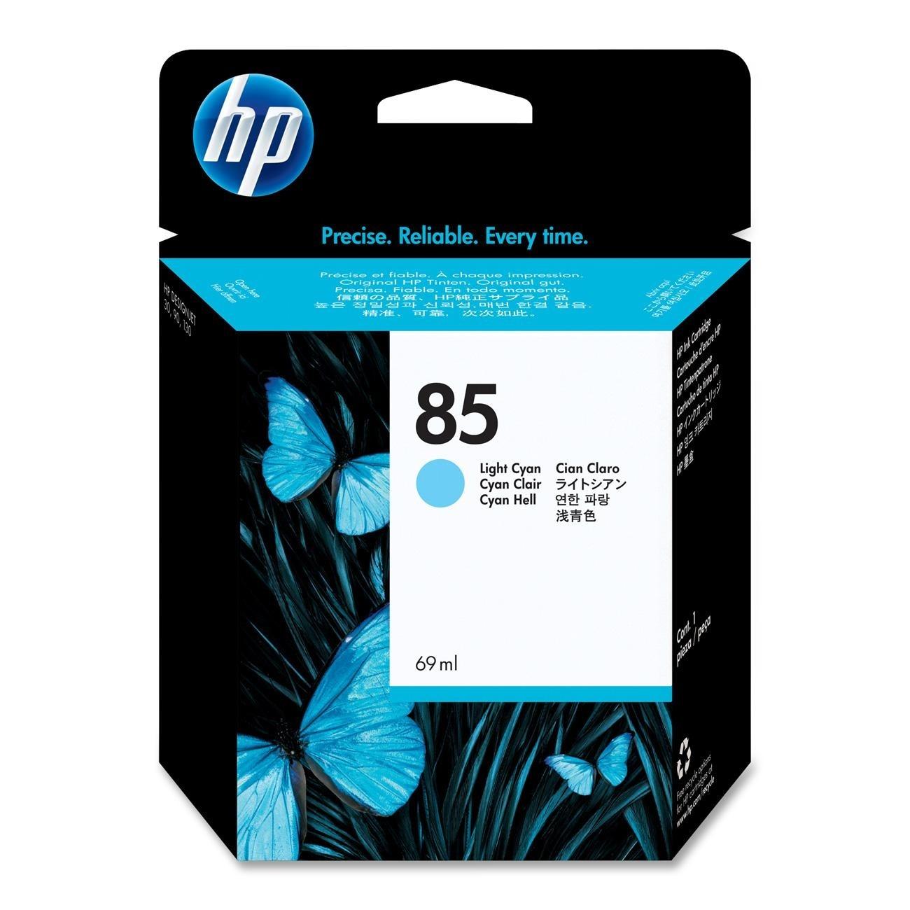 [HP] 정품플로터잉크 No.85 C9428A Light Cyan (DJ130/69ml)
