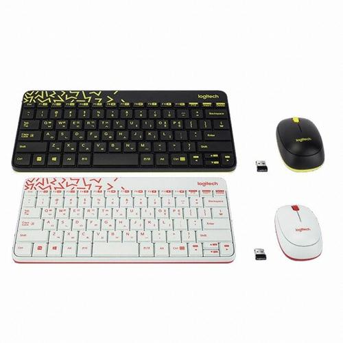 [로지텍] 무선 키보드 마우스 세트 MK240 nano (블랙)