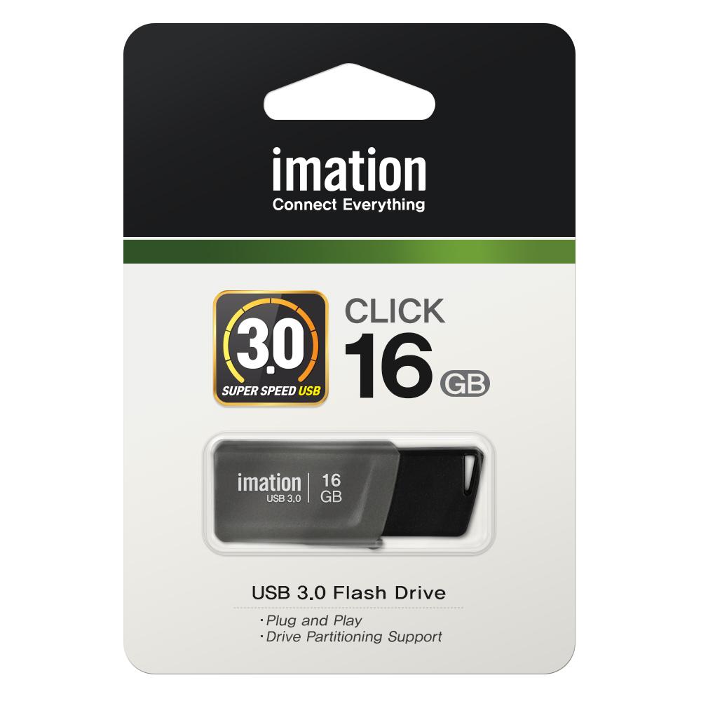 [이메이션] CLICK USB 메모리 3.0 16GB