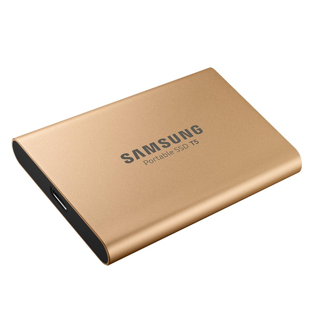 [삼성전자] 포터블 SSD T5 (MU-PAR) (1TB) 골드