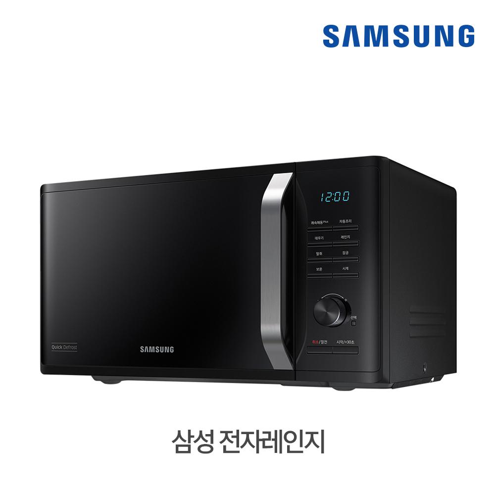 [삼성B2B] 세라믹 전자레인지 23L 블랙 MS23K3535AK