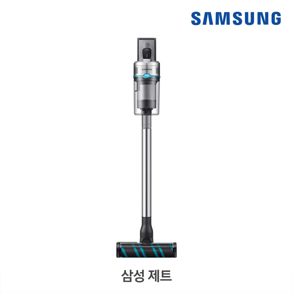 [삼성B2B] 제트 200W 실버(바디)/블루(포인트) + 펫·침구브러시/플렉스 연장관 VS20R9044SB
