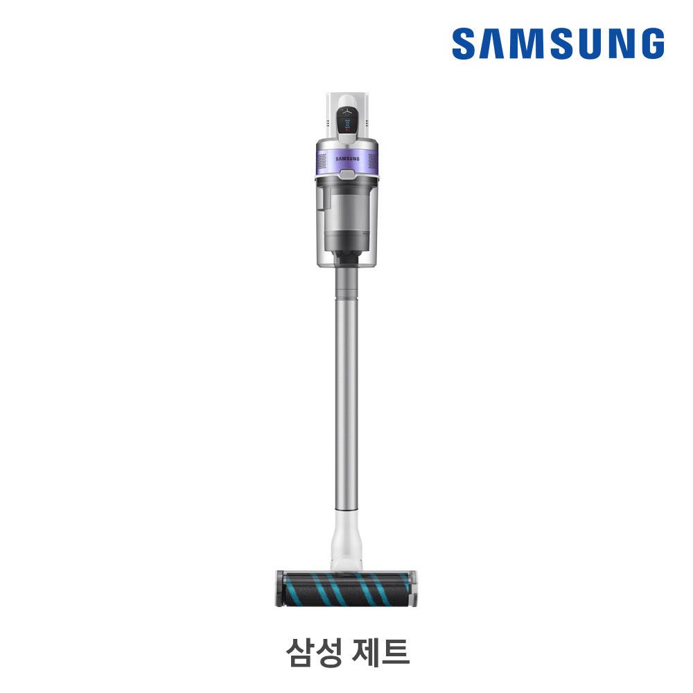[삼성B2B] 제트 150W 화이트(바디)/퍼플(포인트) + 펫·침구브러시/플렉스 연장관 VS15R8544S4