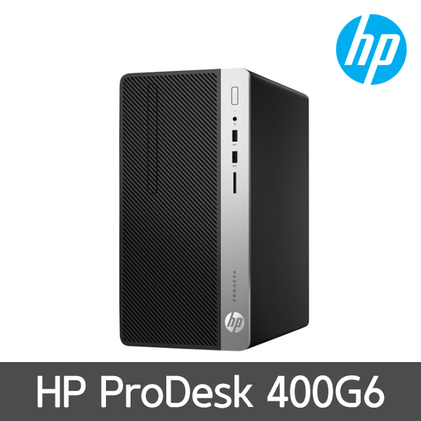 [HP] 프로데스크 400 G6 MT 6CF44AV [G4930/RAM 4GB/M.2 128GB/HDD 1TB/FreeDOS]