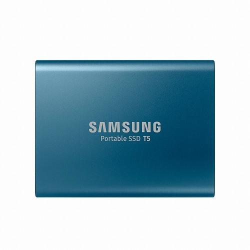 [삼성전자] 포터블 SSD T5 (MU-PAB) (250GB) 블루