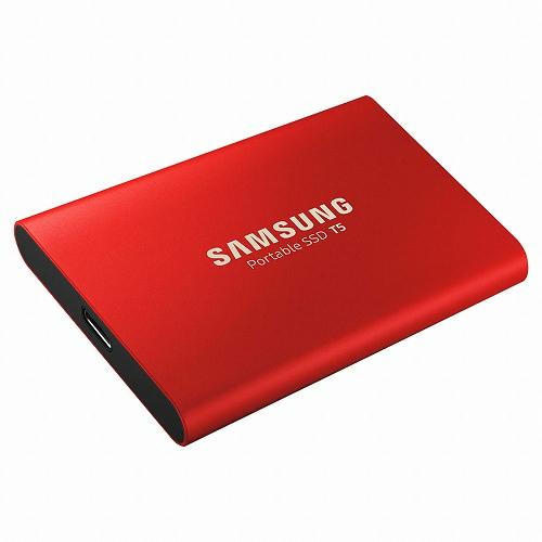 [삼성전자] 포터블 SSD T5 (MU-PAR) (500GB) 레드