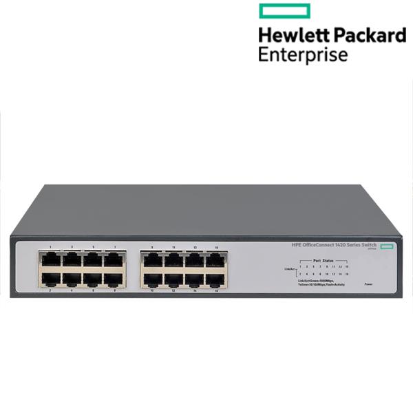 [Aruba HPE] HPE 1420 16G (JH016A) 스위치 허브