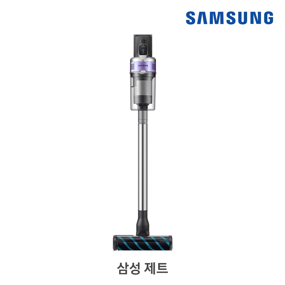 [삼성B2B] 제트 200W 티탄(바디)/ 바이올렛(포인트) + 물걸레브러시/추가배터리 침구·솔·틈새브러시 VS20T8282B2