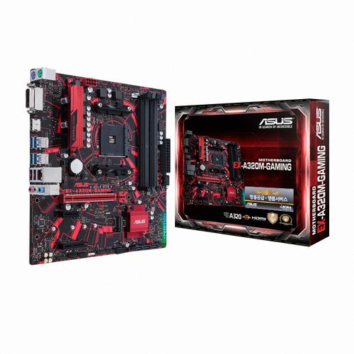 [ASUS] EX A320M-GAMING 아이보라 (AMD A320/M-ATX)