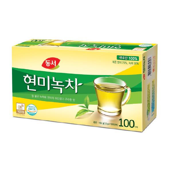 ⓔⓢ현미녹차(1.5g*100T/동서식품)