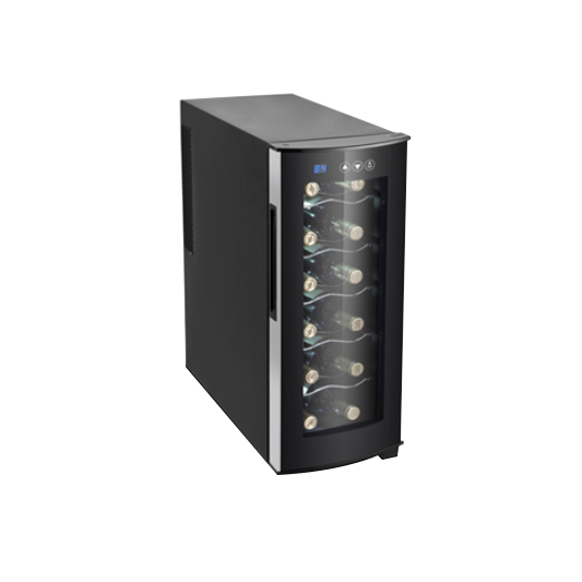 [캐리어] 미니 와인셀러 12병 와인냉장고 CSR-37WR