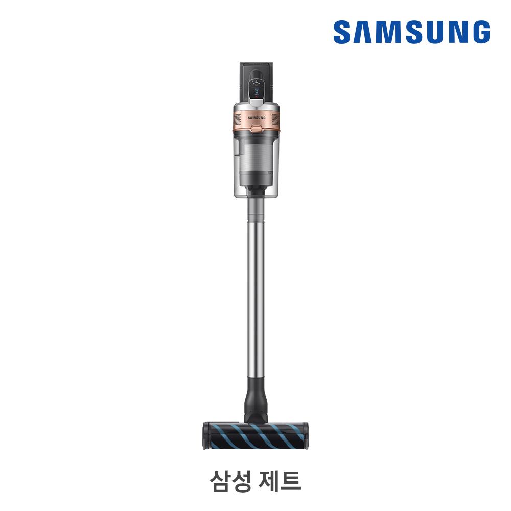 [삼성B2B] 제트 200W 티탄(바디)/골드(포인트) + 물걸레브러시/추가배터리 침구·솔·틈새브러시/플렉스 연장관 VS20T9278S7