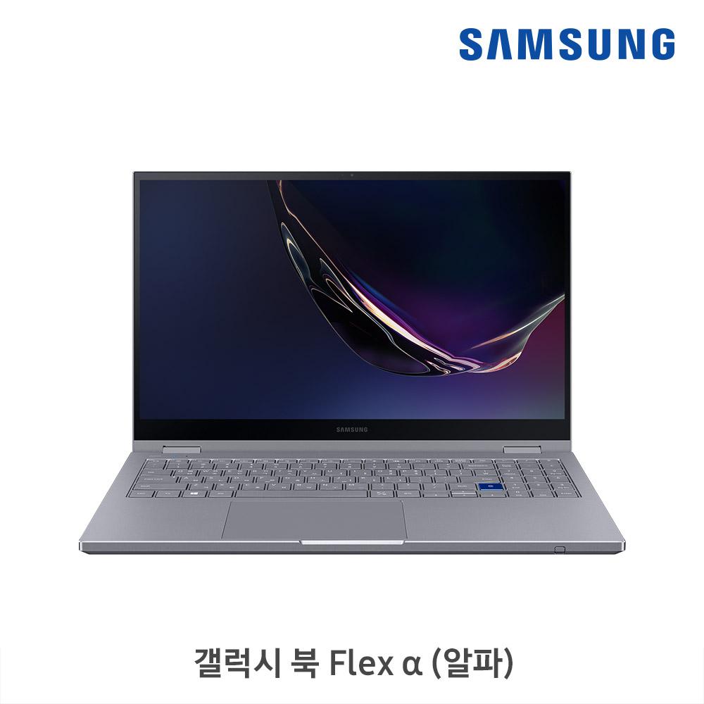 [삼성B2B] 갤럭시 북 Flex 알파 39.6 cm Core™ i3 / 256 GB SSD NT750QCJ-KC38