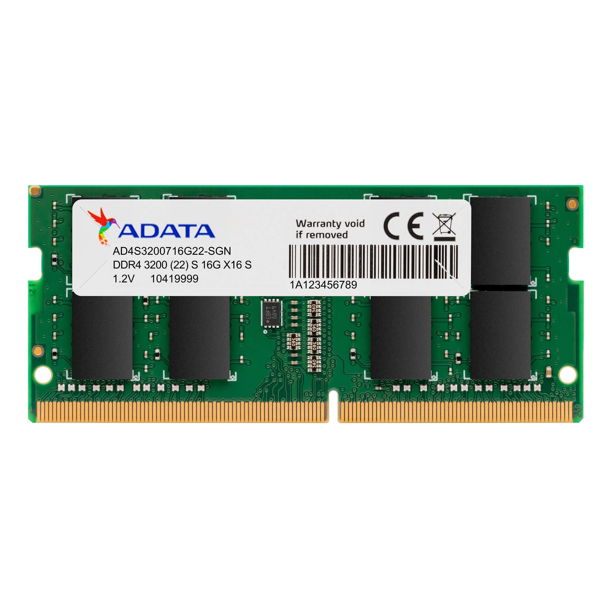 [ADATA] 노트북 Premier, 4GB, DDR4, 2666MHz (PC4-21300)
