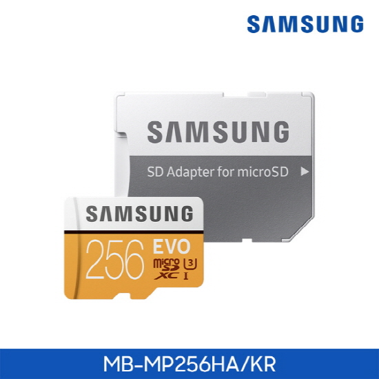 [삼성전자] Micro SD카드 EVO 256GB [MB-MP256HA/KR]