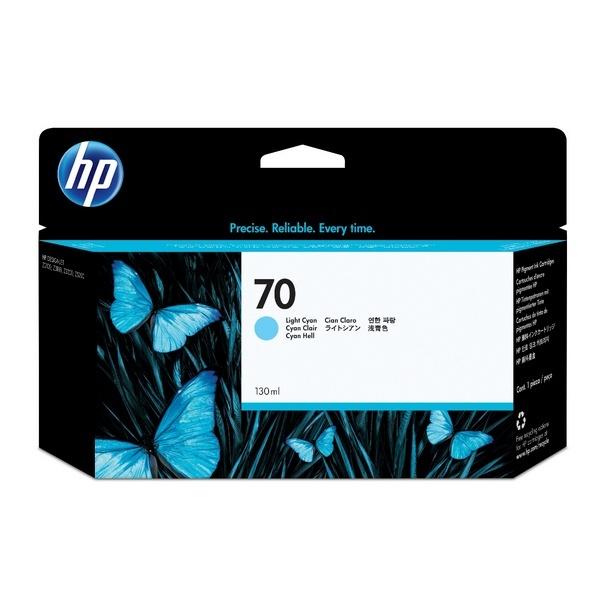 [HP] 정품플로터잉크 No.70 C9390A Light Cyan (Z2100/130ml)