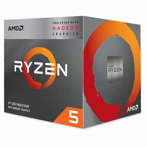 [AMD] 라이젠 5 피카소 3400G 멀티팩 (쿼드코어/3.7GHz/쿨러포함/대리점정품)