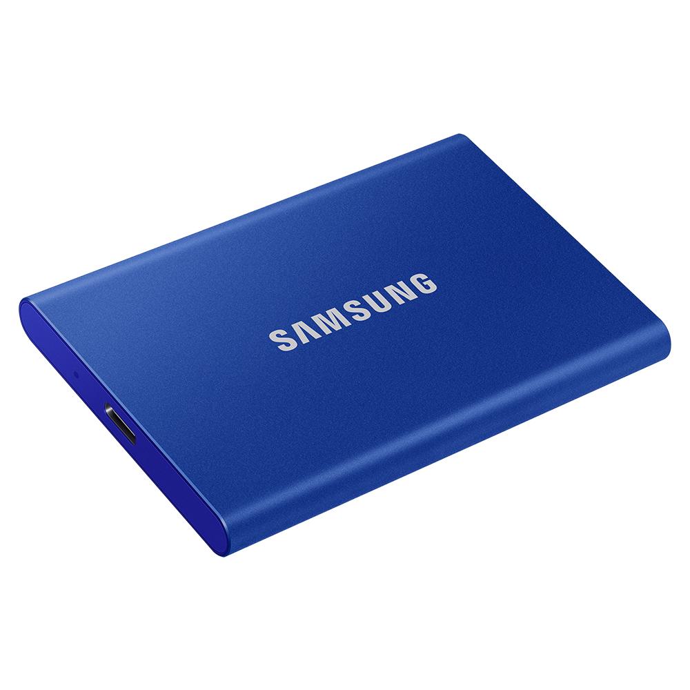 [삼성전자] 포터블 SSD T7 인디고블루 (2TB)