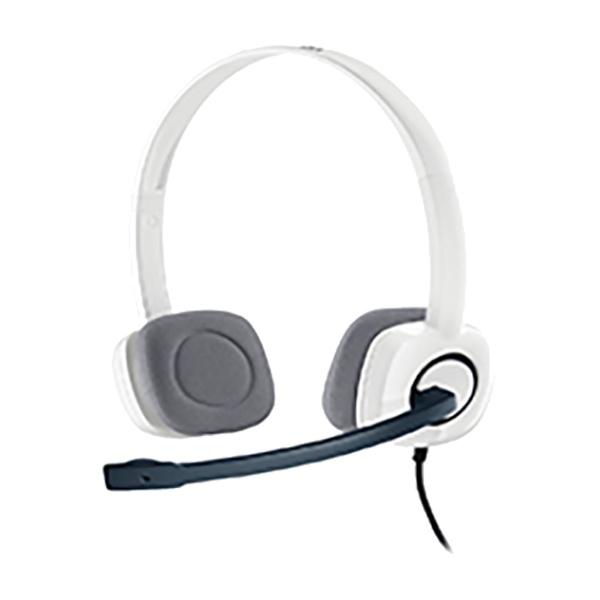 [로지텍] 어학용 헤드셋 H150 (화이트)