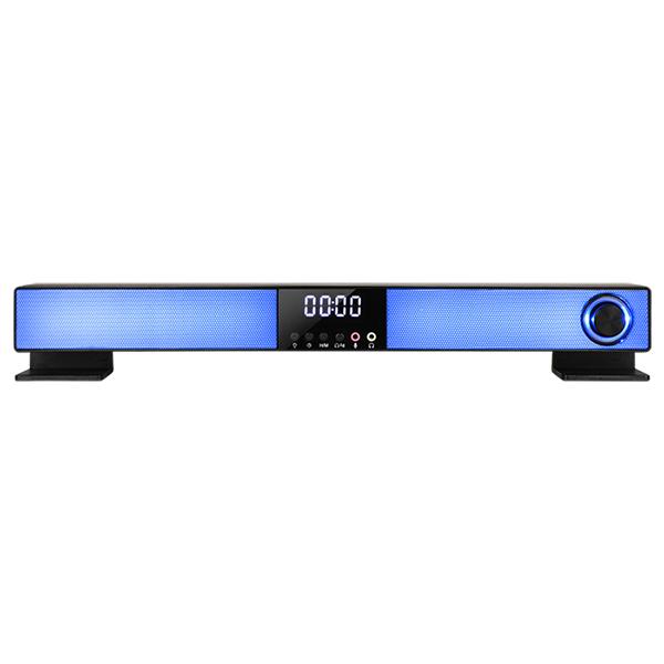 [ABKO] S1300 RGB 디지털 시계 사운드바 스피커