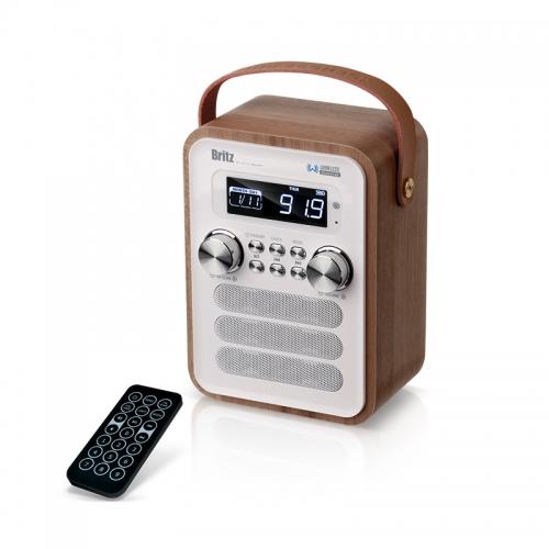[브리츠] BA-C7 라디오 알람 블루투스 휴대용 스피커