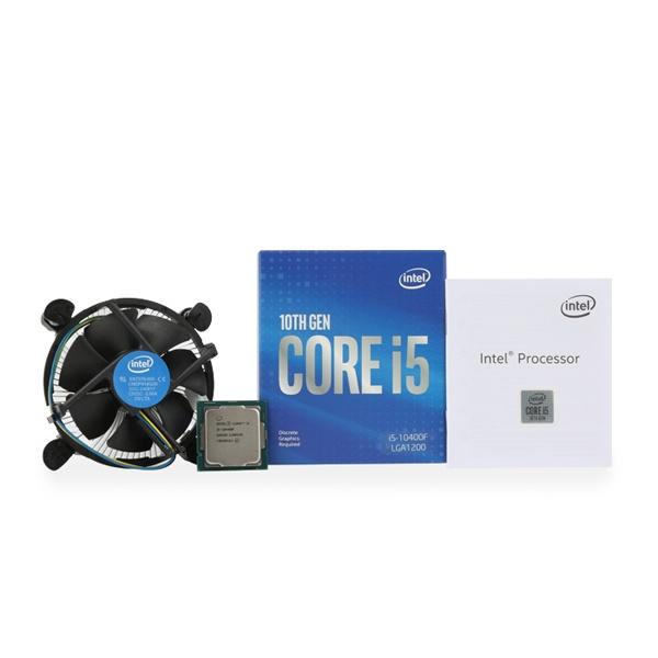 [인텔] 코어10세대 i5-10400F 정품박스 (코멧레이크 /2.90GHz/12MB/쿨러 포함)