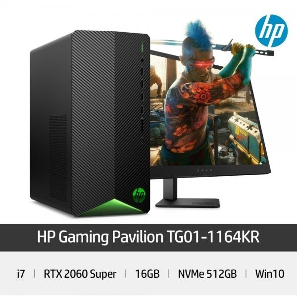 [HP] 파빌리온 게이밍 TG01-1164KR [+HDD 2TB 추가]