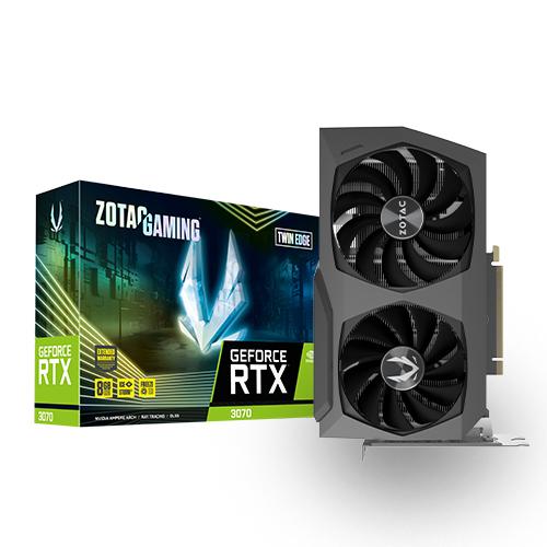 [ZOTAC] GAMING GeForce RTX 3070 Edge D6 8GB TWIN