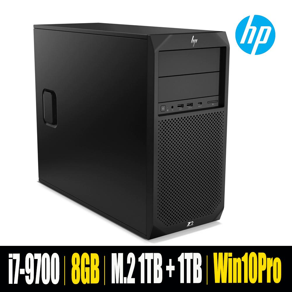 [HP] Z2 G4 Workstation 4FU52AV [i7-9700/RAM 8GB/NVME 1TB + HDD 1TB/Win 10 Pro]