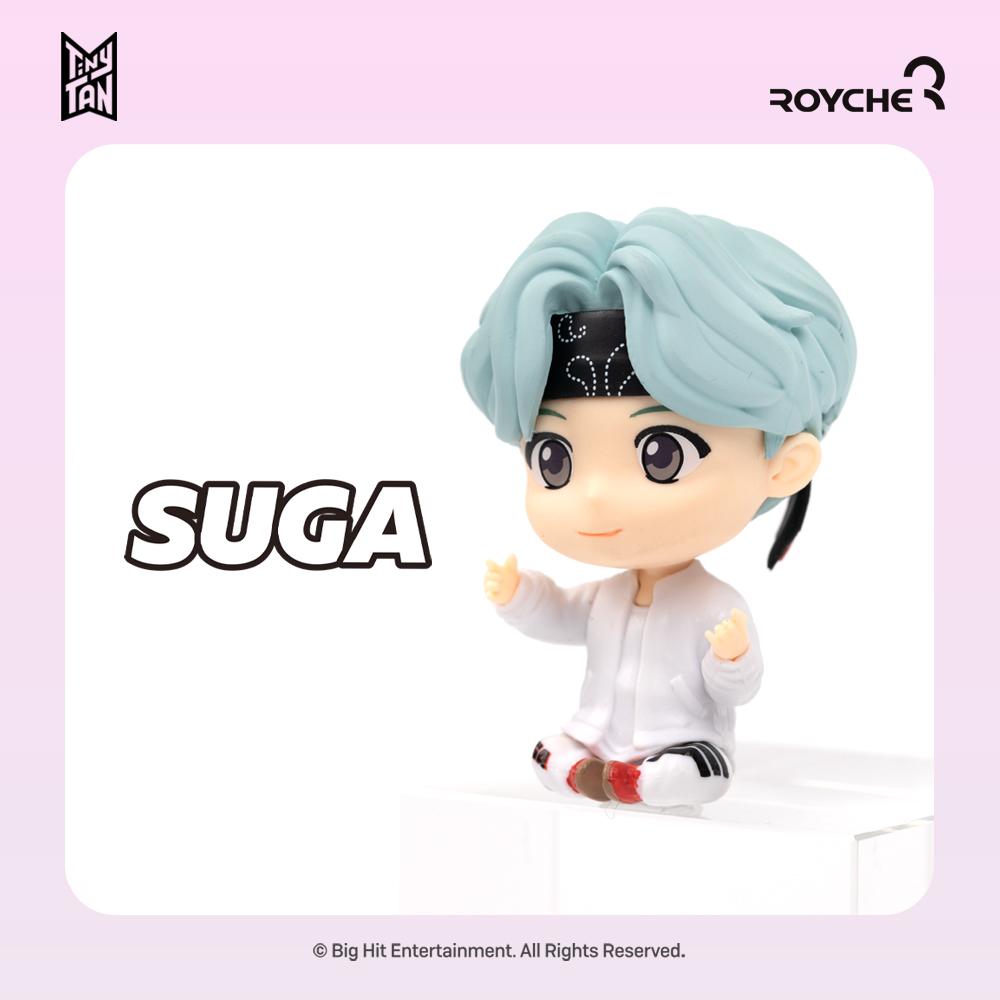 [로이체] 타이니탄 모니터피규어 (BTS캐릭터) - SUGA