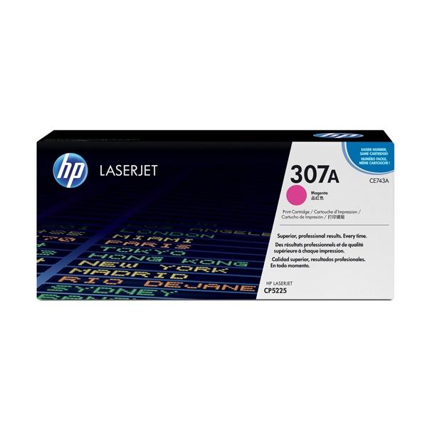 [HP] 정품토너 No.307A CE743A 빨강 (CP5225dn/7.3K)