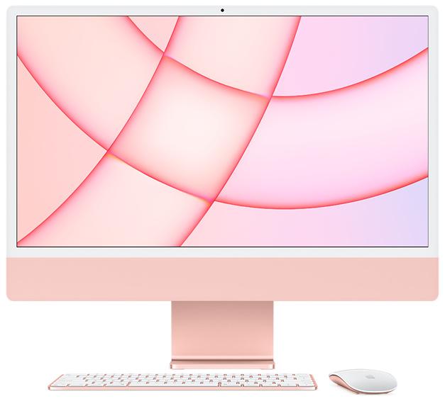 [애플] APPLE 24형 iMac [MJVA3KH/A][핑크][기본제품]