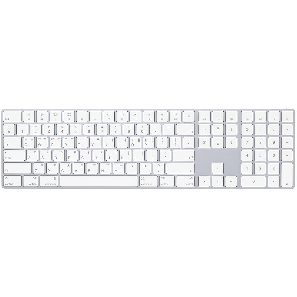 [애플] Magic Keyboard with Numeric Keypad 실버 [MQ052KH/A]