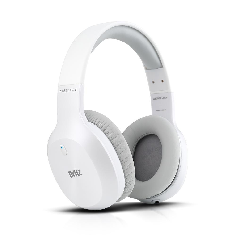[브리츠] 유무선 블루투스 헤드폰 W800BT QPLUS [화이트]