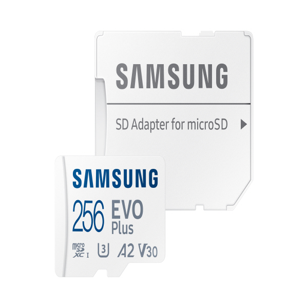 [삼성전자] Micro SD 카드 EVO PLUS (256GB) [MB-MC256KA/KR]