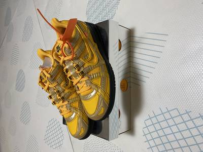 Air Rubber Dunk Off-White University Gold