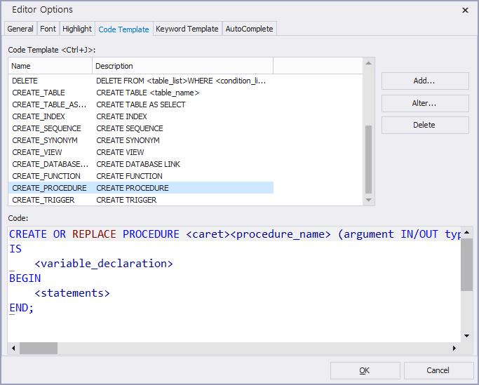 Use Code AutoComplete customize