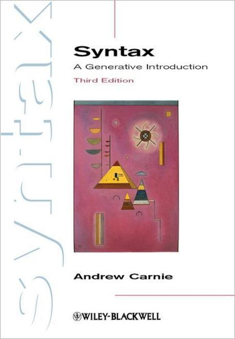 Syntax : A Generative Introduction 3/E