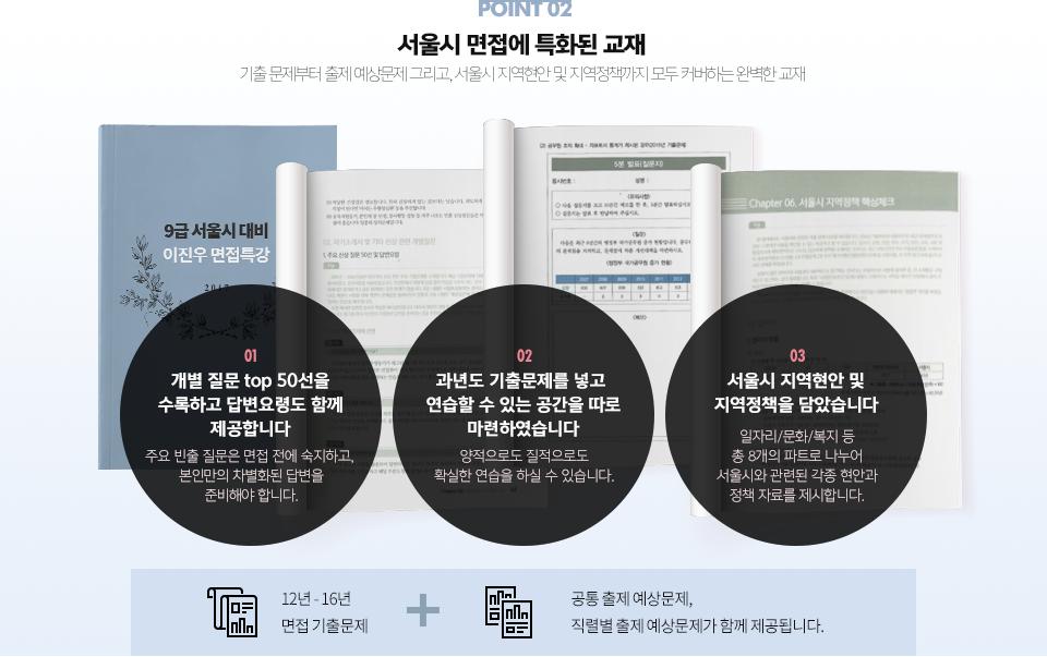 서울시 면접에 특화된 교재