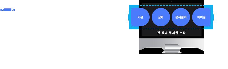 기본+심화+문제풀이+파이널 전 강좌 무제한 수강
