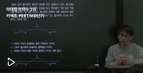 역대 합격지수 1위 커넥츠 PEET/MD단기