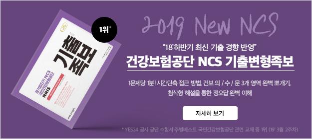 2019 공기업단기NCS 건강보험공단