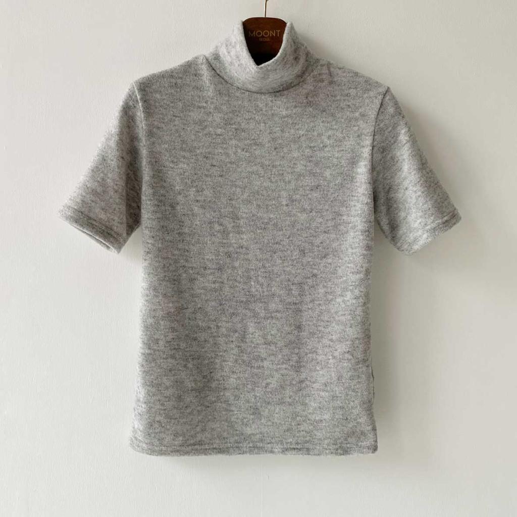 반팔 티셔츠 오트밀 색상 이미지-S1L19