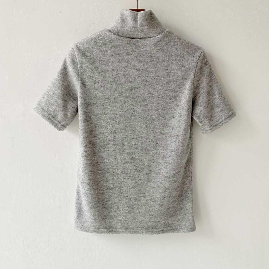 반팔 티셔츠 그레이 색상 이미지-S1L21