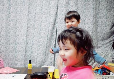 유아영어리딩 5살 7살 남매 후기