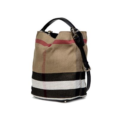 M canvas check leather ashby black 2