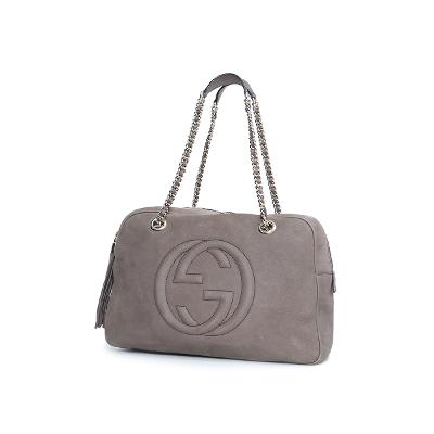 soho chain bag brown