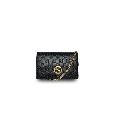 mammont chain wallet black